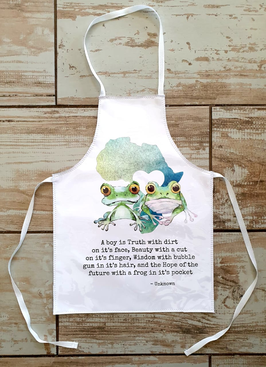Frogs Apron Boys Anna Africa